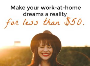 Is working from home your dream?