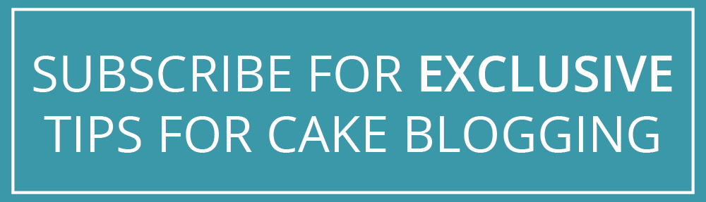 get tips in your inbox for blogging as a baker