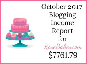 October 2017 Blogging Income Report